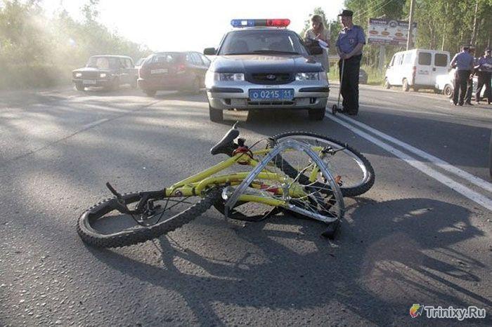 Полицейская погоня за неадекватным водителем (6 фото + видео)