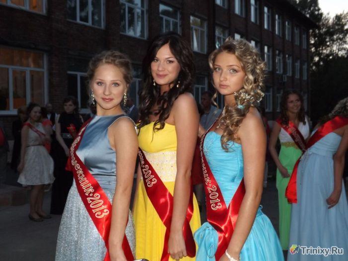Симпатичные выпускницы 2013 года (60 фото)