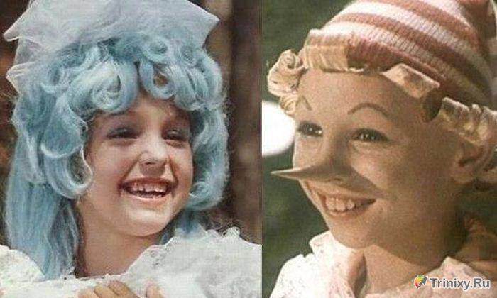 Как выглядят Буратино и Мальвина в наши дни (2 фото)