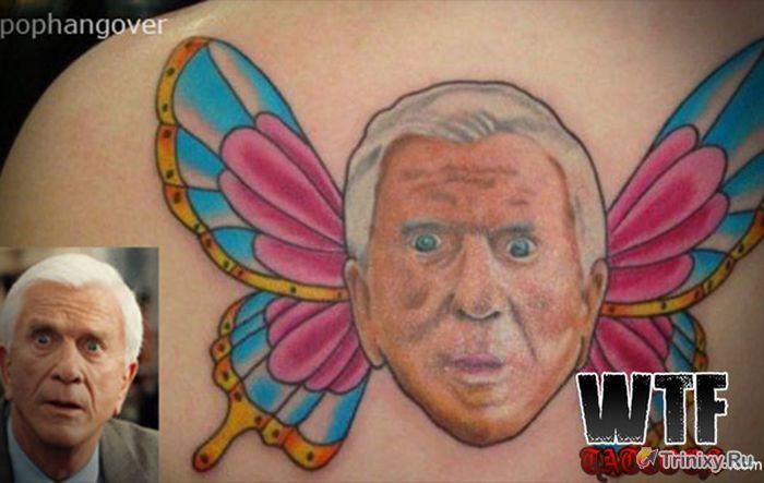 Самые неудачные татуировки знаменитостей (32 фото)