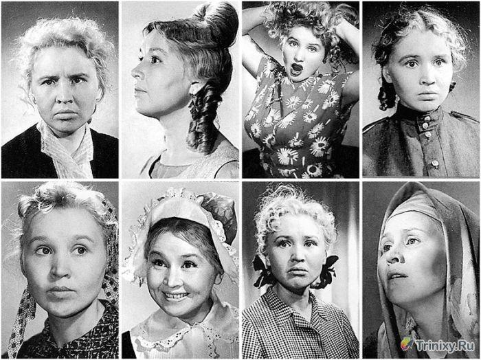 Фотопробы советских актеров (51 фото)