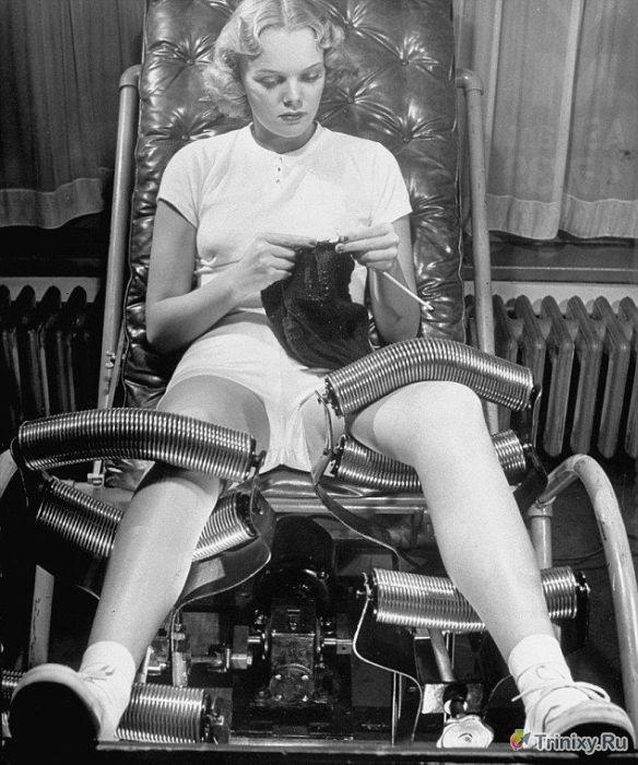 Фотоэкскурсия по косметическим салонам прошлого века (11 фото)