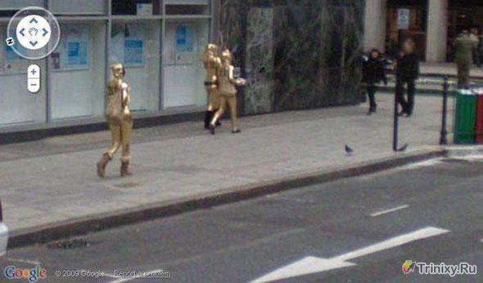 ТОП-25 самых странных снимков Google Street View (25 фото)