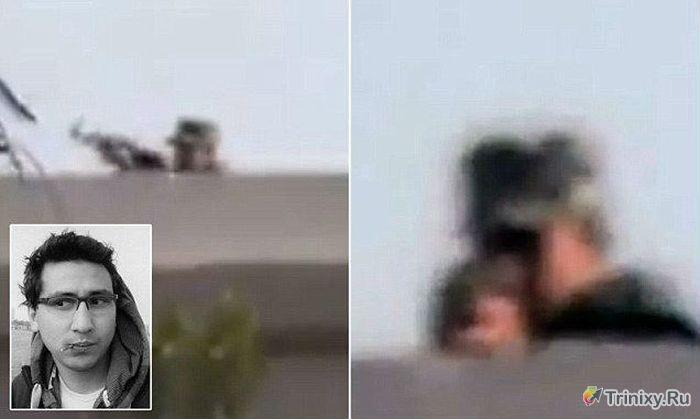 Репортер из Египта снял видео своего убийства (1 фото + видео)