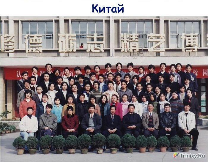 Выпускники из Китая и США (2 фото)