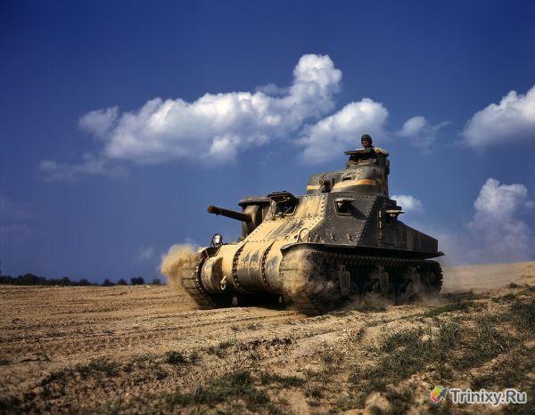Цветные снимки Второй Мировой Войны (41 фото)