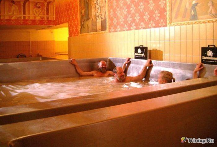 Необычные пивные ванны (8 фото)