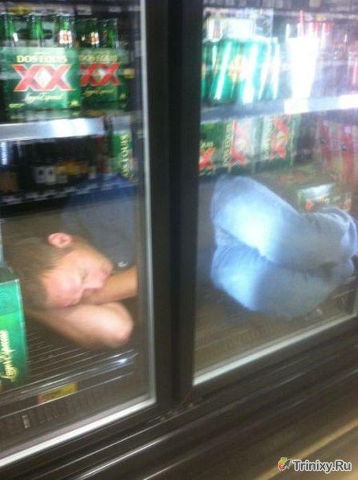 Люди, которые не умеют пить (44 фото)