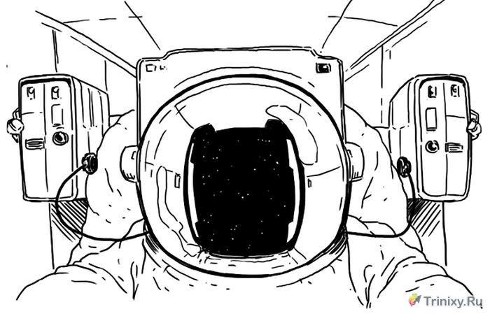 Как всё устроено: Полёт в космос (3 картинки + текст)