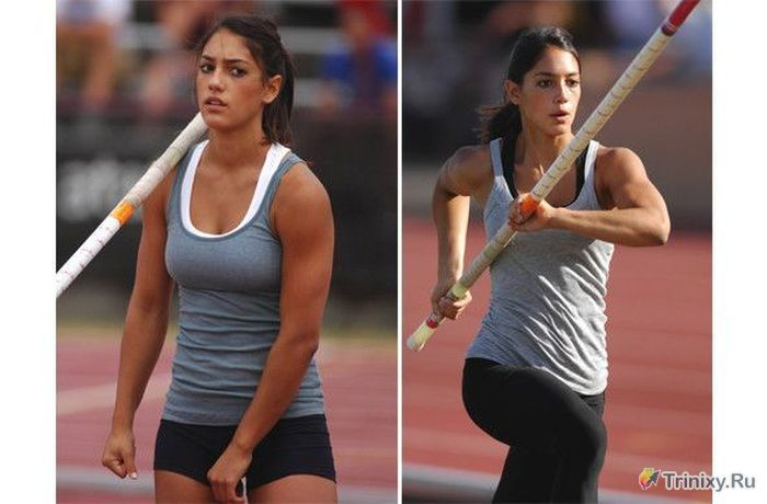 Сексуальные спортсменки (12 фото)