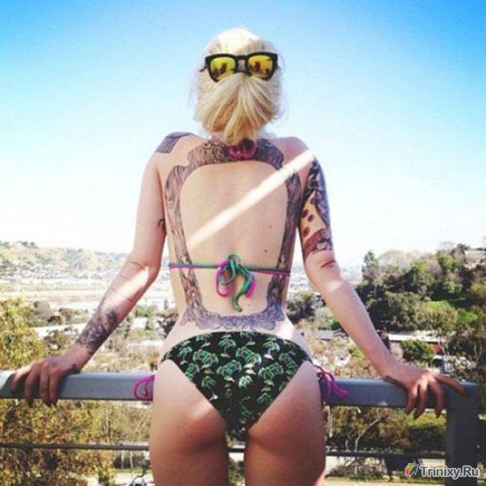 Привлекательные девушки в татуировках (57 фото)
