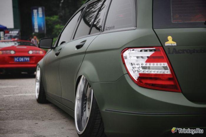 Крутой тюнинг заряженных автомобилей (45 фото)