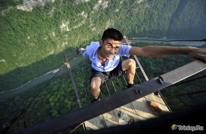 Экстремальный риск для жизни каждый день (8 фото)