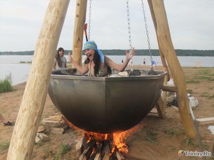 БаняФест - крупнейший фестиваль любителей бани (45 фото)
