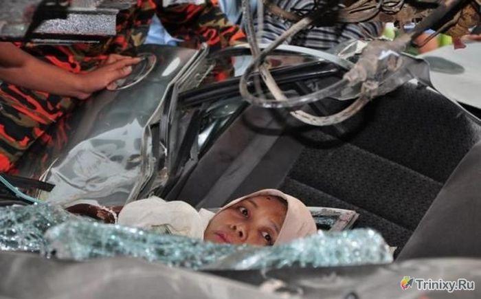 Беременная женщина родилась в рубашке (28 фото)