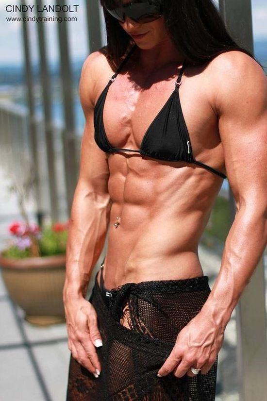 Упражнение для увеличение грудь