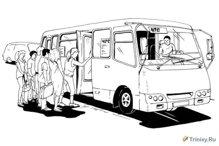 Как все устроено: Водитель маршрутки (2 фото + текст)