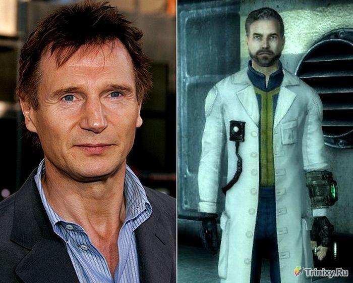 Знаменитые люди в видеоиграх (14 фото)
