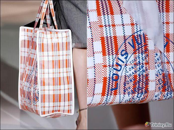 Дизайнерская сумка от Louis Vuitton (4 фото)