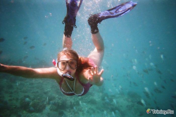 Последствия игнорирования правил погружения с аквалангом (6 фото)
