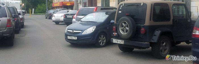 Могу парковаться, как хочу (3 фото)