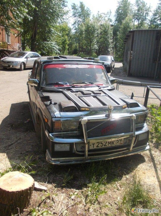 Крутая тачка гангстера из Перми (4 фото)