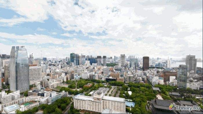 Фотография Токио с разрешением в 600 000 пикселей (34 фото)