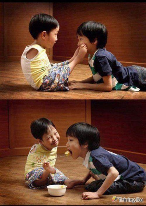 Добрые и позитивные фотографии (89 фото)