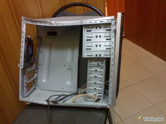 Компьютер, ставший причиной семейной ссоры (4 фото)