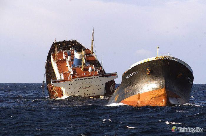 Самые страшные техногенные катастрофы 21 века (18 фото)