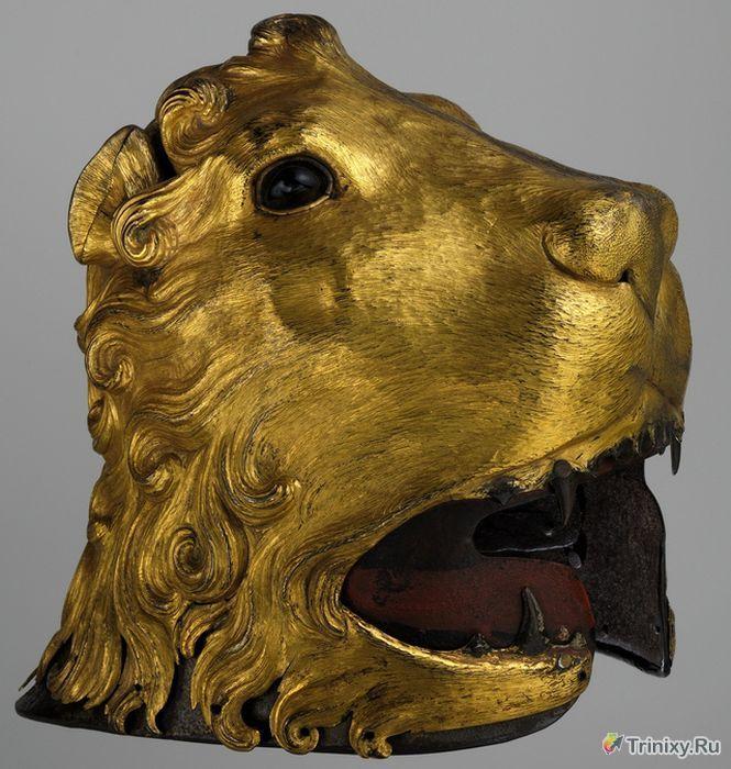 Самые необычные шлемы из прошлого (32 фото)