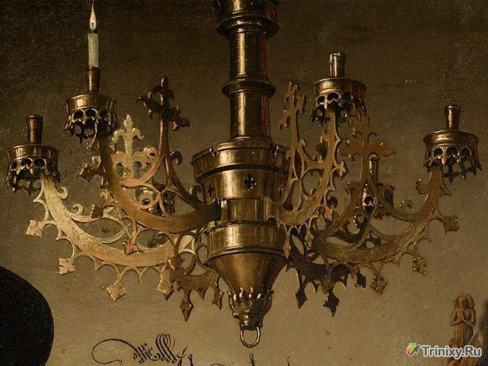 Интригующие тайны старинных произведений искусства (16 фото)