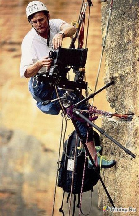 Нелегкий труд фотографов (40 фото)