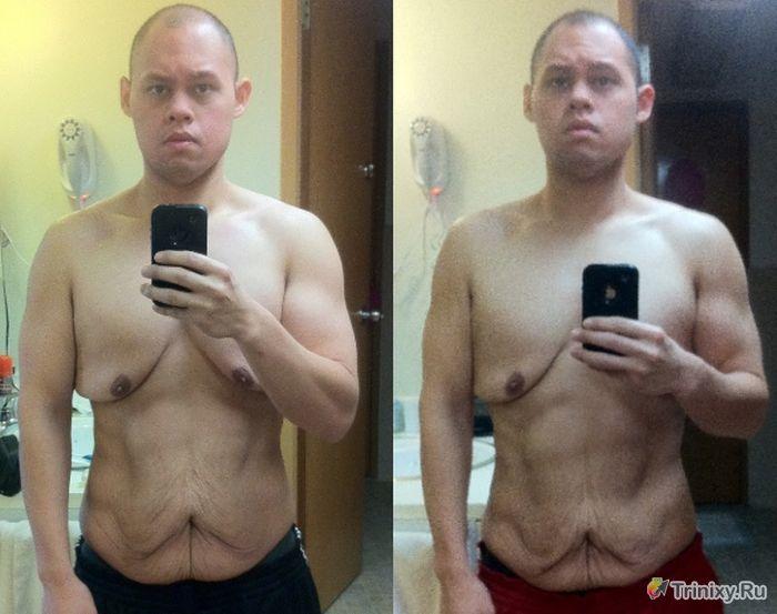 """До и после"" трансформации тела (4 фото)"