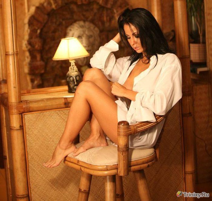 Обнаженная фотосессия Лены Берковой с новым телом (5 фото)