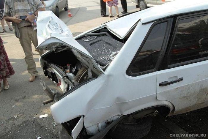Гонки по городу на Porsche Panamera закончились печально (19 фото + видео)