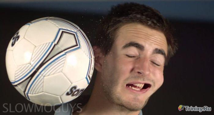 Что происходит при сильном ударе в лицо (13 фото)