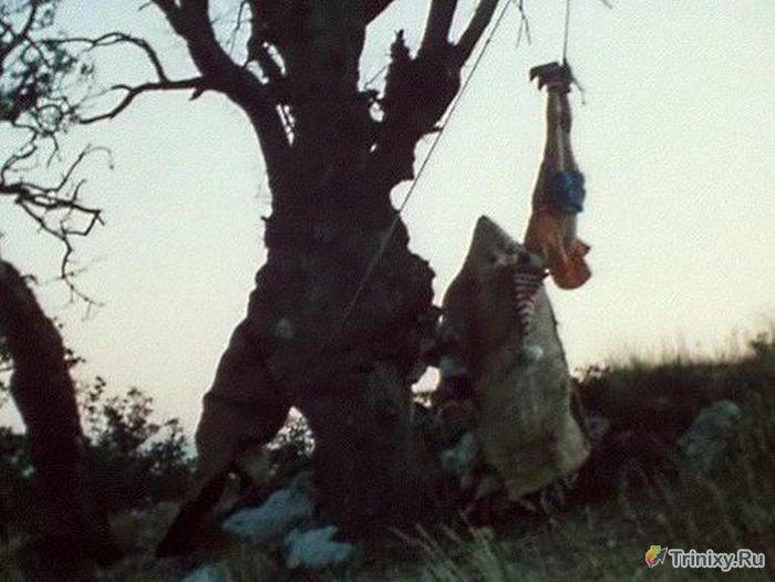 """За кулисами съемок фильма детства """"Приключение Буратино"""" (18 фото)"""