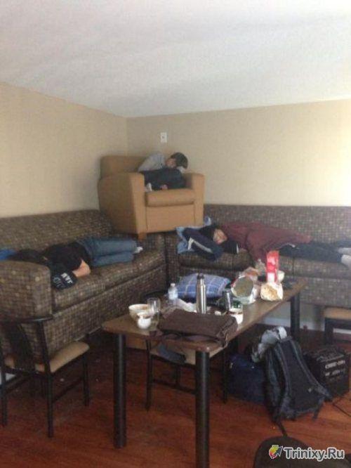 Как отдыхают зарубежные студенты. Часть 7 (40 фото)