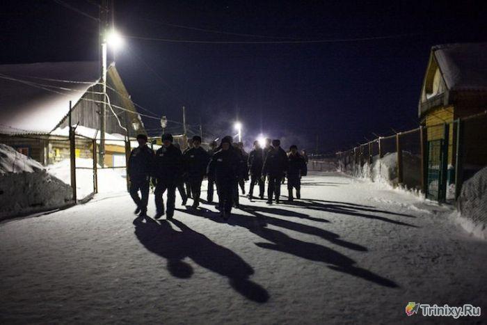 Исправительная колония строгого режима в Ерцево (25 фото)