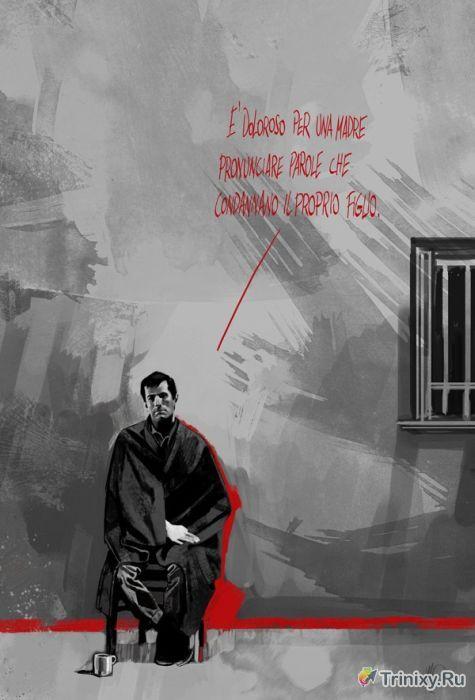 Классные рисунки по мотивам известных кинофильмов (114 рисунков)
