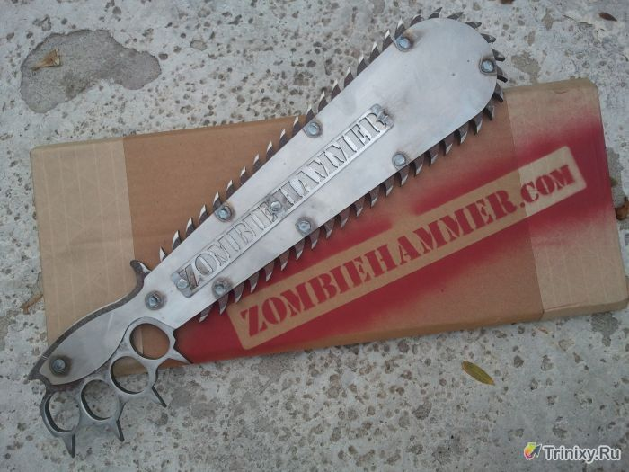 Оружие для зомби-апокалипсиса (6 фото)