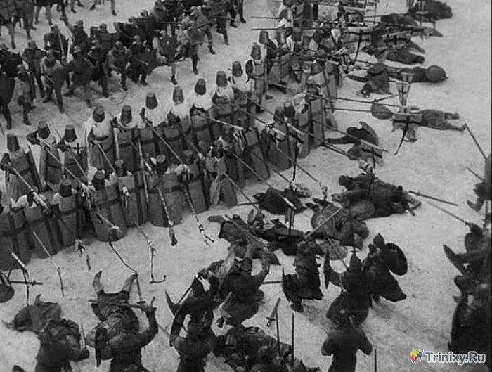 Каскадеры советского кино (11 фото)