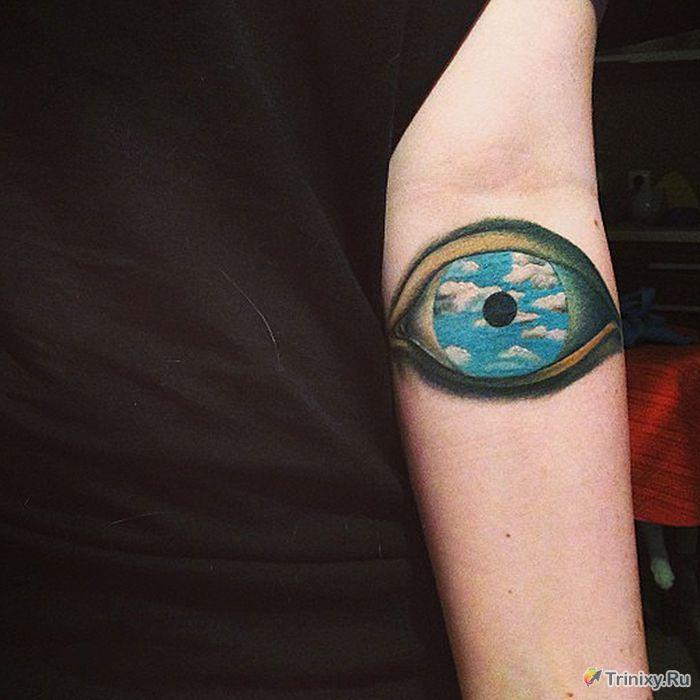 Креативные татуировки (41 фото)