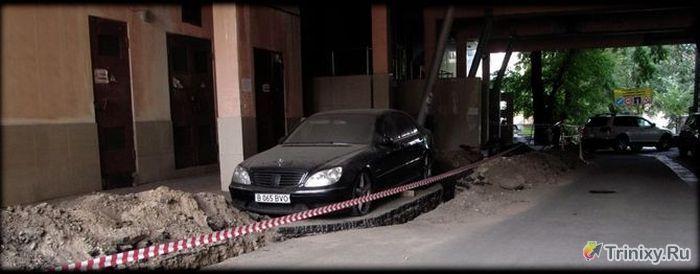 Подборка автомобильных приколов. Часть 30 (49 фото)
