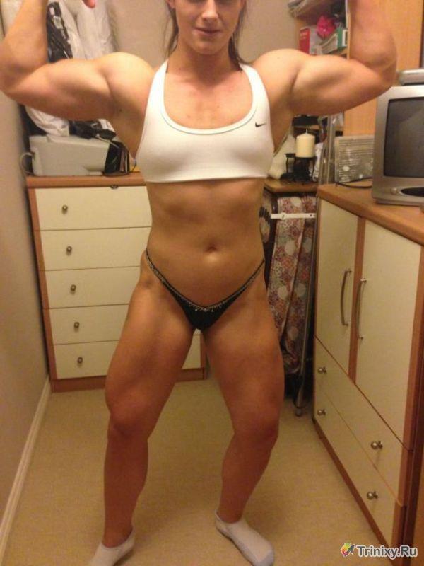 Фотографии голых женщин бодибилдеров