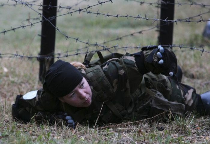 Безумная идея - экстремальные блоггеры в армии (58 фото)