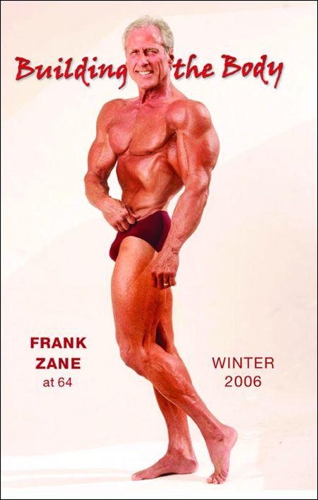 Бодибилдер Френк Зейн в молодости и сейчас (5 фото)