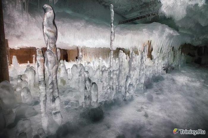 Заброшенный 10-этажный склад-холодильник (10 фото)