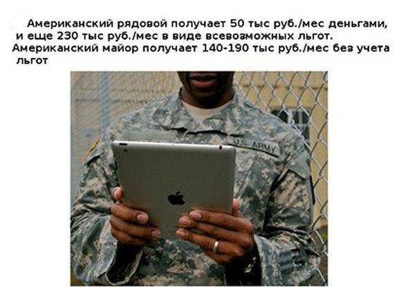 Интересно о вооруженных силах США (11 фото)